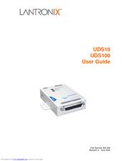 Lantronix UDS100 Manuals