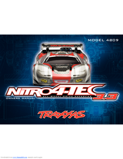 Traxxas Nitro 4-Tec 3 3TM all-wheel-drive 4809 Manuals