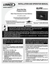 Lennox H5433 Propane Conversion Kit Ravenna RDV33//40