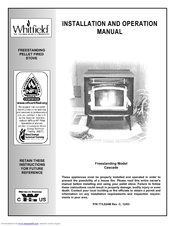 Whitfield Cascade Manuals on