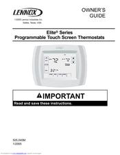 lennox elite series manuals rh manualslib com lennox ms8 owners manual lennox owners manual for merit 14acx unit