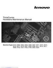 Lenovo 6071 Hardware Maintenance Manual