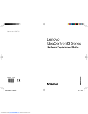 Lenovo IdeaCentre B3 Series Hardware Replacement Manual
