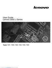 Lenovo 7389 User Manual