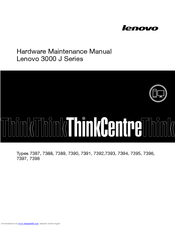 Lenovo 7389 Hardware Maintenance Manual
