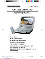 durabrand portable dvd player