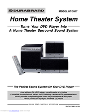 Durabrand home cinema system model ht-391