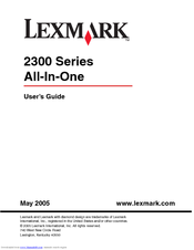 DRIVERS FOR LEXMARK X2300