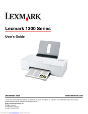 Lexmark Z1310 Printer Windows Vista 64-BIT
