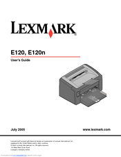 Lexmark E120n Host Based Printer 64 Bit