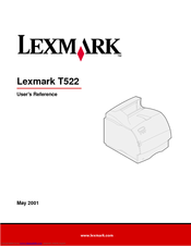 lexmark t522 manual
