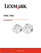 lexmark t630 user s manual guide
