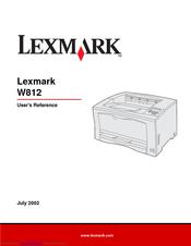lexmark w810 manual