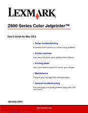 logiciel lexmark z612