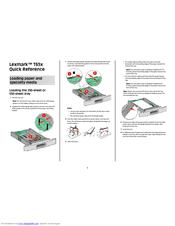 lexmark t652 manuals rh manualslib com lexmark t652 repair manual Lexmark E260d Manual PDF