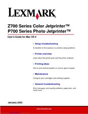 lexmark z735 color jetprinter driver download