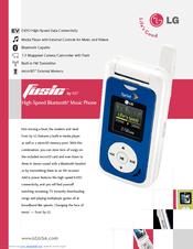 lg fusic lx550 fusic cell phone manuals rh manualslib com LG Phones 2017 Hot to Activate LG Fusic