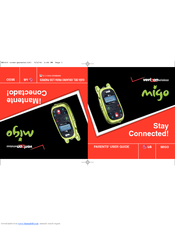lg migo migo user manual pdf download rh manualslib com LG Migo Verizon Watch Phone