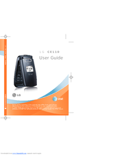 lg shine ce110 manuals rh manualslib com LG Cosmos LG Shine