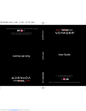 LG VOYAGER User Manual