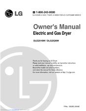lg dle2516w owner s manual pdf download rh manualslib com Dryer Parts Electric Dryer