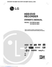 lg dvd recorder manual pdf