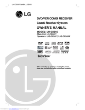 LG LH-CX245 Owner's Manual