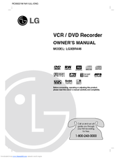 LG LGXBR446 Owner's Manual