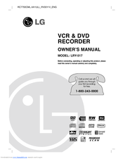 LG LRY-517 Owner's Manual