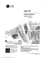lg 20lc1r series manuals rh manualslib com LG Instruction Manual LG Phones Manual