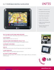 LG LN735 Specifications