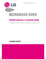 Lg Lrm1260sw Owner S Manual Cooking