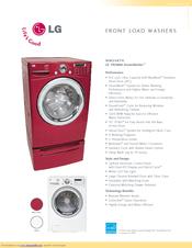lg tromm steamwasher wm2487h manuals rh manualslib com lg tromm steam washer wm2487hwm manual lg tromm front load washing machine manual