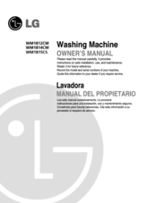 LG WM1812CW Owner's Manual
