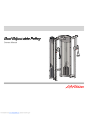 life fitness dual adjustable pulley manual
