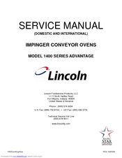 lincoln impinger conveyor ovens service manual one word 1973 lincoln continental wiring-diagram lincoln 1400 series service manual pdf download rh manualslib com lincoln impinger 1301 pizza oven lincoln
