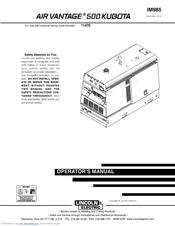 lincoln electric air vantage 500 manuals. Black Bedroom Furniture Sets. Home Design Ideas