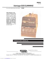 lincoln electric air vantage 500 manuals rh manualslib com Lincoln Air Advantage Lincoln Electric