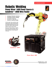 Lincoln Electric POWER WAVE I400 Brochure & Specs