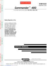 lincoln 400as 50 wiring diagram lincoln electric commander 400 svm133 b service manual pdf download  lincoln electric commander 400 svm133 b