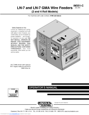 Lincoln Electric LN-7 Operator's Manual