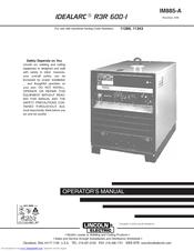 lincoln electric idealarc r3r 600 i manuals. Black Bedroom Furniture Sets. Home Design Ideas