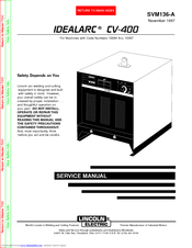lincoln electric idealarc svm136 a service manual pdf download rh manualslib com