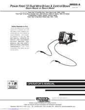 Lincoln Electric IM658-A Operator's Manual