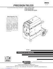 lincoln electric precision tig 225 manuals rh manualslib com Lincoln Electric Welding Machines Lincoln Electric Welders