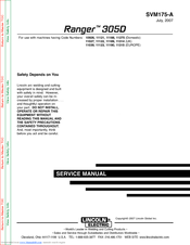lincoln 305g wiring diagram lincoln electric ranger 305d svm175 a service manual pdf download  lincoln electric ranger 305d svm175 a
