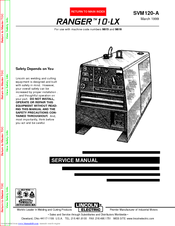 lincoln electric ranger 10-lx service manual