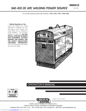 lincoln electric im869 d operator s manual pdf download rh manualslib com Lincoln SAE- 300 Diesel Lincoln Welder SAE-400