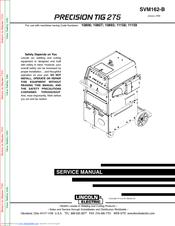 lincoln electric precision tig 275 manuals rh manualslib com Lincoln Electric Mig Lincoln Electric Welders