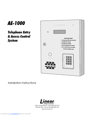 95719_ae1000_product linear ae 1000 manuals  at webbmarketing.co